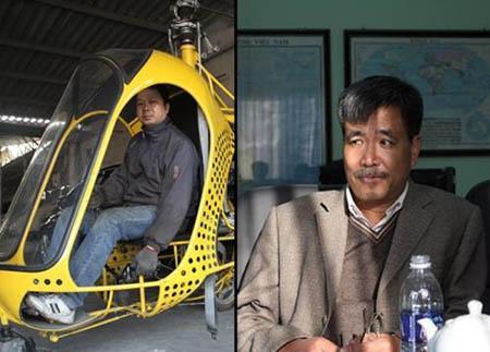 Người chế tạo trực thăng (ảnh trái) và người chế tạo tàu ngầm (ảnh phải)