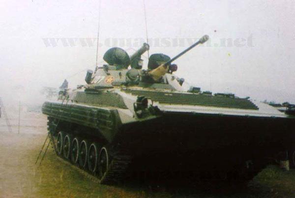 Khác với với 73mm 2A28 có tốc độ bắn 6-8 phát/phút, pháo tự động 30mm 2A42 của BMP-2 bắn được 500 phát/phút và có tầm bắn thẳng bằng đạn xuyên giáp đến 2.000m và lên đến 4.000m với đạn mảnh hoặc đạn phá mảnh