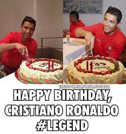 Sinh nhật Cris Ronaldo là hôm nay đấy