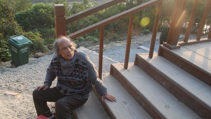 Một cụ ông 80 tuổi từ Hà Nội vào viếng Đại tướng chiều cuối năm