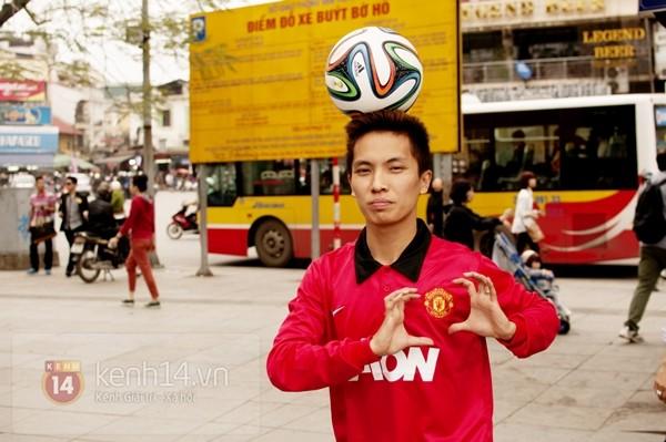 VĐV tâng bóng nghệ thuật số 1 Việt Nam ăn tối với sao Manchester United 3
