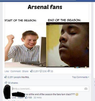 Chỉ có thể là fan Arsenal