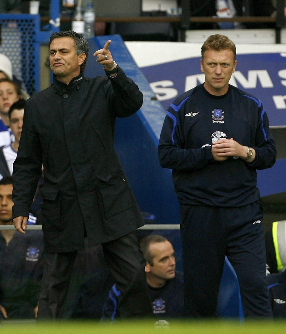 Jose Mourinho và David Moyes đã đối đầu nhau từ nhiều năm trước