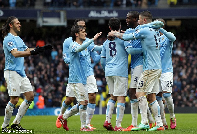 Man City đang tập trung cho chức vô địch Premier League