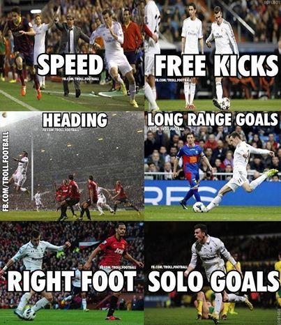 Bale quá hoàn hảo