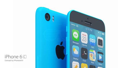 Bản thiết kế iPhone 6, iPhone 6C mang phong cách iPod đẹp mắt 5