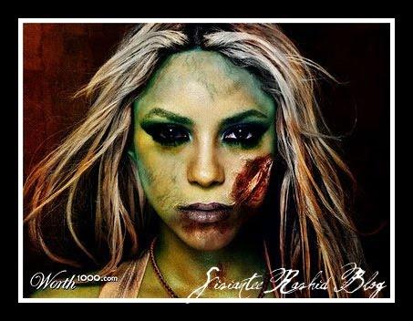 Shakira cũng là xác sống