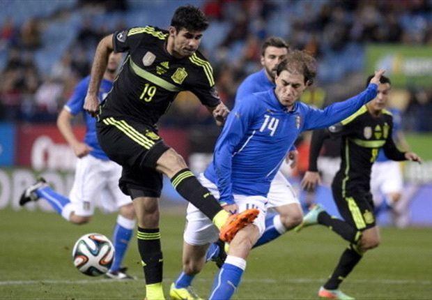 Diego Costa thi đấu không thành công đêm qua