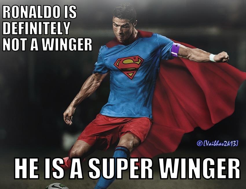 Ronaldo là siêu nhân ấy chứ
