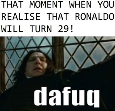 Ngỡ ngàng, Cris Ronaldo đã 29