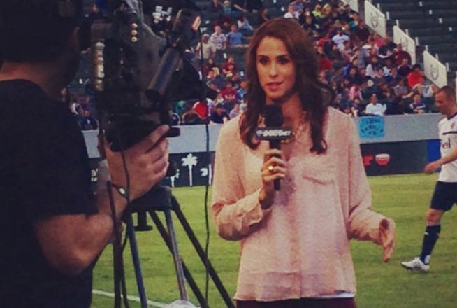 Cô hiện làm một MC truyền hình thể thao ưu tú