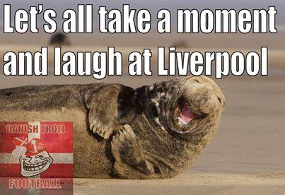 Vâng, hãy cười Liverpool