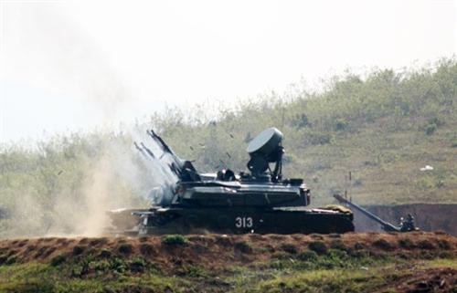 Pháo phòng không tự hành ZSU-23-4 trong biên chế quân chủng phòng không không quân Việt Nam
