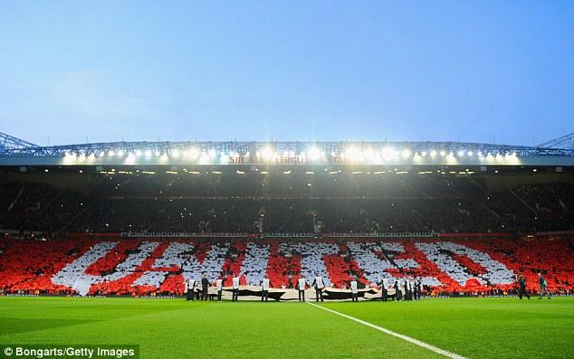 Khán đài Sir Alex Ferguson thực sự rực rỡ