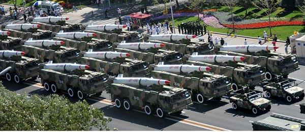 Trung Quốc có trong trang bị hơn 1.500 tên lửa đạn đạo chiến thuật DF-11 và DF-15, đây thực sự là mối đe dọa lớn đối với Việt Nam.