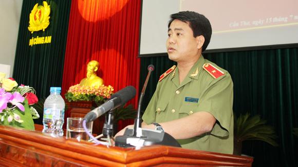 Thiếu tướng Nguyễn Đức Chung - Giám đốc Công an Hà Nội.