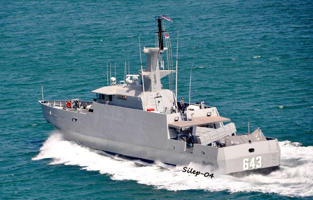 KCR-40 là mẫu tàu do Indonesia tự thiết kế và chế tạo. Tàu KCR-40 dài 40m và được trang bị 2 tên lửa chống hạm C-705.