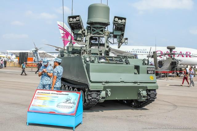 Tại Singapore Airshow 2013 - triển lãm hàng không lớn nhất châu Á và là một trong các triển lãm hàng không vũ trụ lớn nhất thế giới thế giới hiện nay diễn ra vào trung tuần tháng 2, Singapore đã trình làng hệ thống tên lửa phòng không Mechanised Igla (MehIgla) trên khung gầm xe M113.