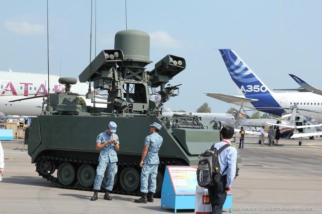 Hợp đồng cung cấp cho Singapore 12 giá phóng Dzhigit với tên lửa Igla và thực hiện lắp đặt các mô-đun MANPADS Igla trên các khung gầm của nước ngoài đã được ký kết vào tháng 3 và tháng 5 năm 1997.