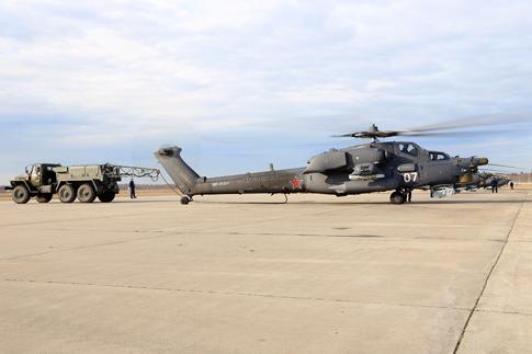 Tiếp sau trực thăng Mi-26 là các máy bay trực thăng vũ trang Mi28N.