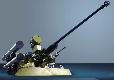 Tổ hợp vũ khí gồm pháo tự động 30mm, súng phóng lựu tự động 30mm, đại liên PKT 7,62mm và tên lửa chống tăng Kornet.