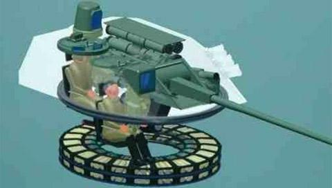 Tổ hợp pháo bắn nhanh 57mm, kính ngắm quang điện tử và tên lửa chống tăng Kornet