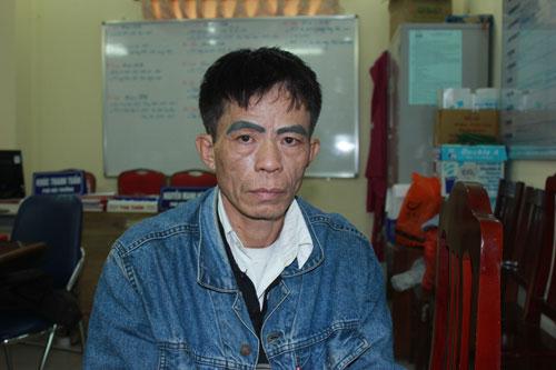 Nghi can Vũ Thanh Sơn đang bị tạm giam tại cơ quan công an. Ảnh: ĐS&PL