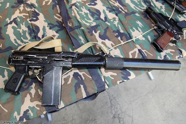Súng trường tiến công cỡ nhỏ 9A-91 (sử dụng cỡ đạn 9x39mm). Hiện nay mẫu súng này đang được trang bị cho lực lượng cảnh sát Nga.