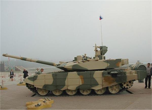 T-90 đang là mặt hàng xuất khẩu chủ lực của Nga nên việc mua được loại siêu tăng này là rất khả thi.