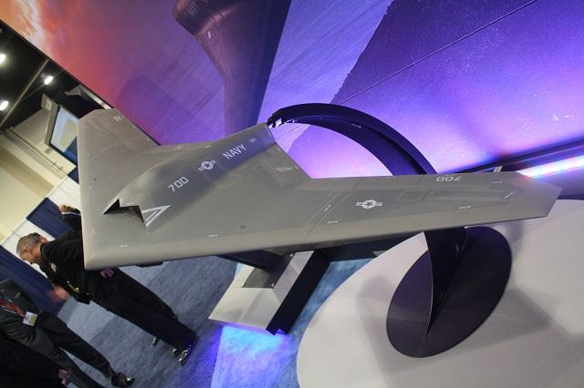 Mô hình UAS UCLASS của tập đoàn Lockheed Martin.