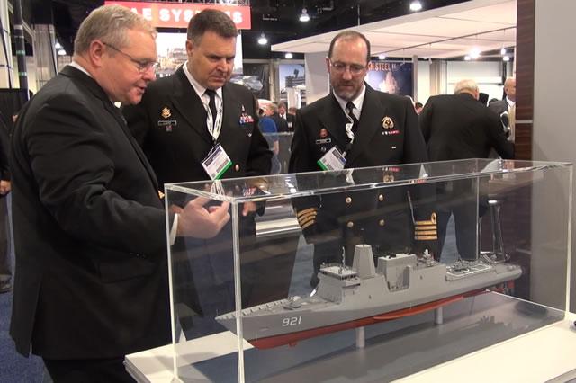 Mẫu tàu khinh hạm mới này được công ty Ingalls giới thiệu cả ở thị trường xuất khẩu và trong nước (giới thiệu cho chương trình tàu chiến mặt nước cỡ nhỏ của Hải quân Mỹ.)