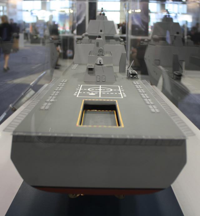 Theo đó các tàu BMD này sẽ là loại tàu chủ lực thực hiện nhiệm vụ đánh chặn và tạo thành lá chắn phòng thủ tên lửa trên biển thay thế nhiệm vụ này của các tàu chiến lớp Arleigh Burke (đưa các tàu lớp Arleigh Burke chỉ còn thực hiện các nhiệm vụ thông thường). Tàu BMD sẽ được trang bị 4 ra đa mảng pha cỡ lớn, 288 bệ phóng thẳng đứng Mk 41 hoặc 144 bệ phóng Mk 57.