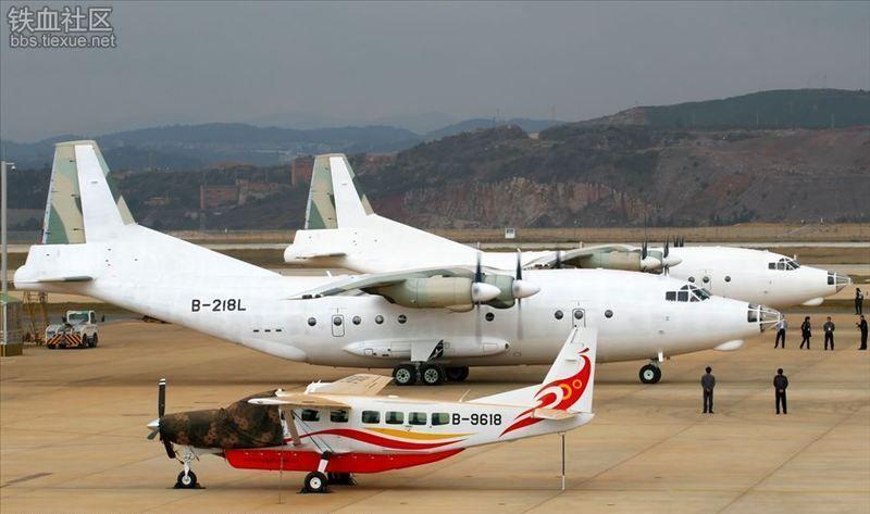 Hai chiếc máy bay Y-8C được chuyển tới Venezuela năm 2012