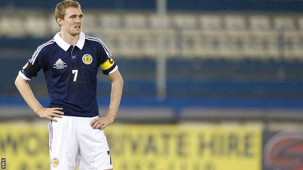 Darren Fletcher sẽ đeo băng thủ quân ĐT Scotland ở trận tới gặp Ba Lan