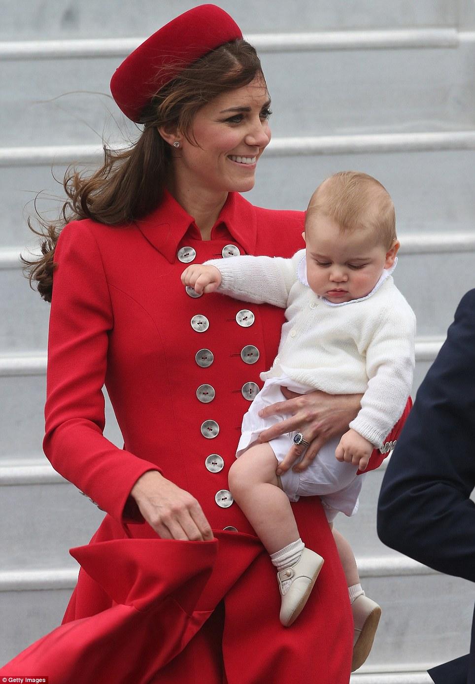 Khuôn mặt ngơ ngác của George khiến rất nhiều người yêu mến.