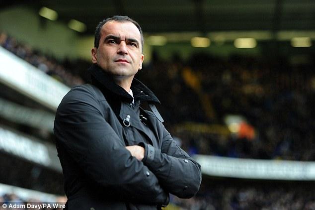 Martinez đang có một mùa giải tuyệt vời cùng Everton