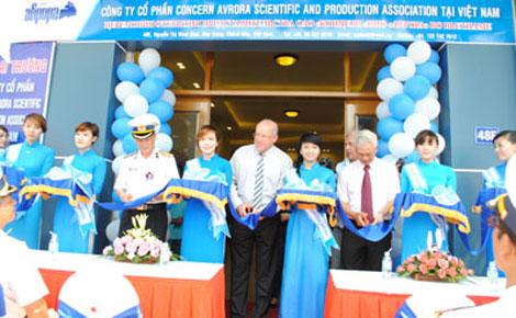 Lễ khai trương văn phòng đại diện Công ty Avrora.