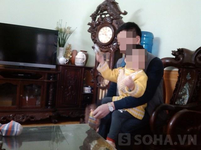 Bé Nguyễn Trường Hà hơn 2 năm trước đã từng bị mẹ mìn bắt cóc tại Bệnh viện Phụ sản Trung ương