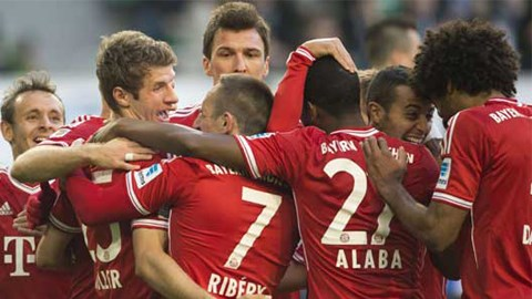 Bayern đang quá mạnh tại Bundesliga