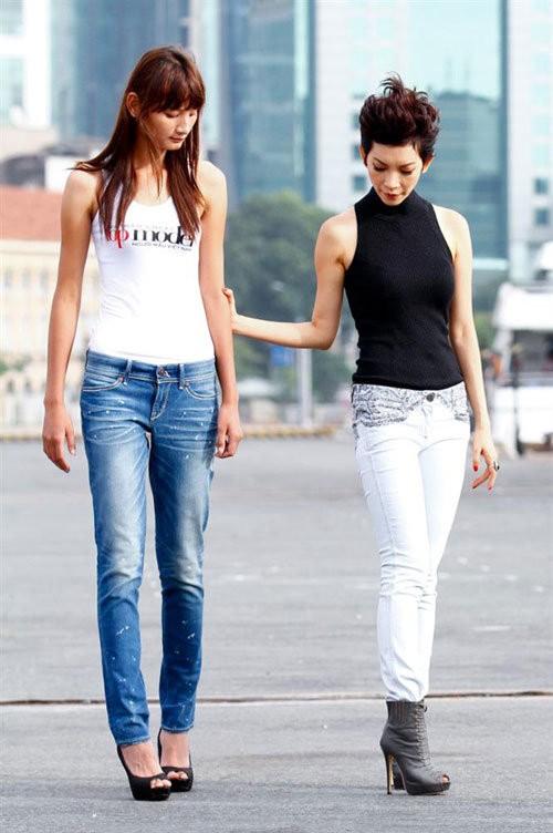 Là 1 siêu mẫu kỳ cựu của làng model Việt, Xuân Lan vẫn