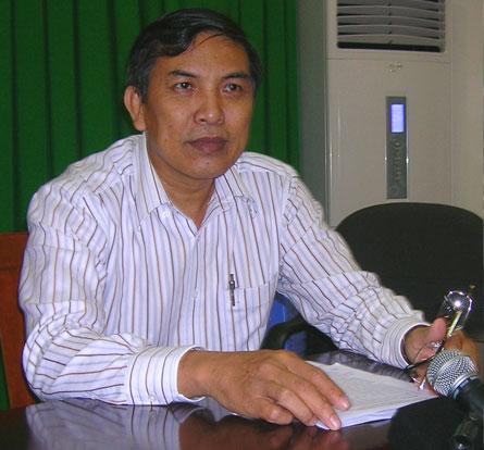 Ông Cao Văn Trọng - Phó Chủ tịch UBND tỉnh Bến Tre (Ảnh: Phan Lữ Hoàng Hà)