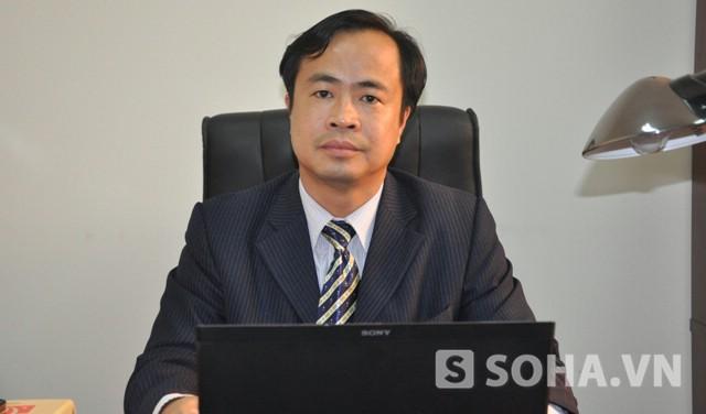 Luật sư Chu Mạnh Cường - Trưởng Văn phòng Luật sư Danh Chính (Ảnh: Tuấn Nam)