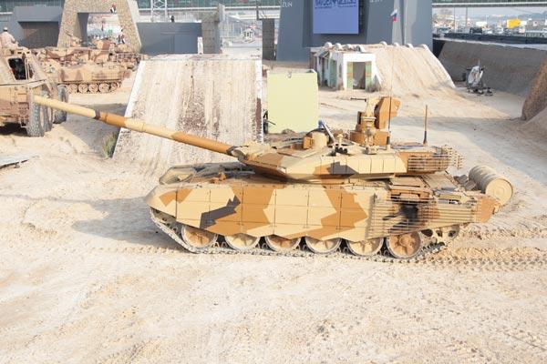 Việt Nam hoàn toàn có thể tính đến chuyện mua luôn biến thể hiện đại nhất của T-90 là T-90SM.