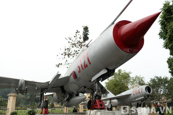 Máy bay MIG-21 F96 số hiệu 5121 được sản xuất năm vào những năm 1960 và được Liên Xô chuyển giao sang cho Việt Nam vào tháng 7 năm 1972.