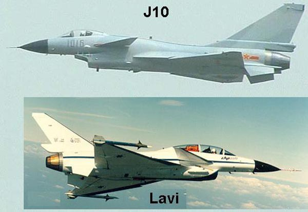 J-10 khó lòng cất cánh lên bầu trời nếu không có bàn tay hậu thuẫn của Israel từ dự án tiêm kích Lavi.