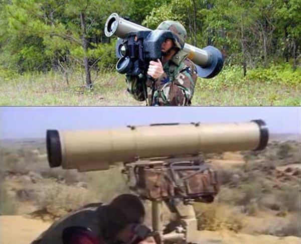 FGM-148 Javelin(ở trên) và AT-14 Kornet(ở dưới) đều được thiết kế cho bộ binh chống tăng cơ động.