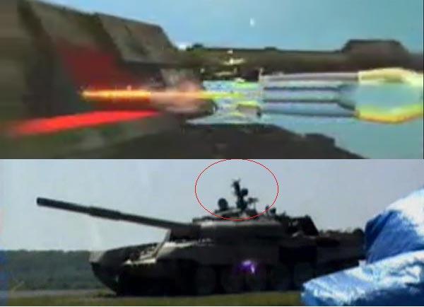 AT-14(ở trên) được thiết kế tấn công trực diện nên có sức xuyên giáp đến 1.2000mm sau giáp cảm ứng nổ. Javelin(ở dưới) thực hiện kiểu tấn công đột nóc từ trên cao nên có thể diệt mọi loại tăng.