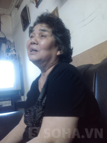 Mẹ chồng chị Lê Thị Thanh Huyền