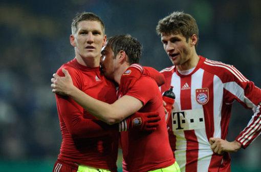 Bộ ba Muller,Schweinsteiger và Lahm là những cầu thủ người Đức gốc của Bayern