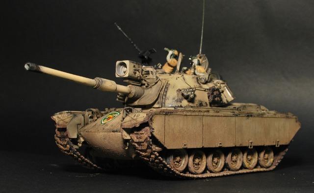 Xe tăng M48A5 đã được chế cũ đi...